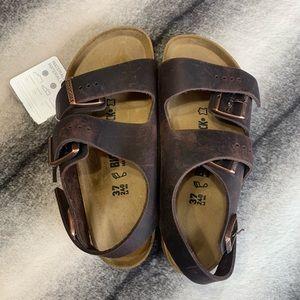 { Birkenstock } Milano BS Habana Sandals